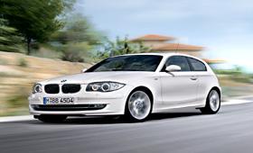 Автомобилисты России предпочитают BMW 1-Series