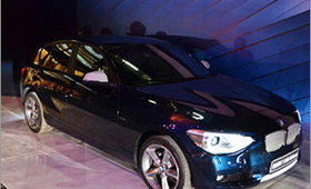 В «Москва-Сити» состоялся показ нового BMW 1-Series