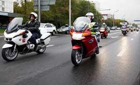 В Москве пройдет мотопробег мотоциклов BMW
