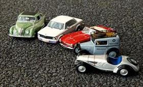 В Москве прошла выставка миниатюрных BMW