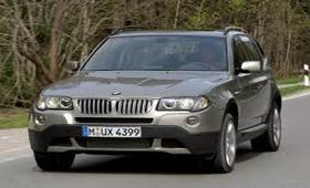 В прошлом месяце наиболее популярной баварской моделью стала X3