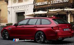 Его величество совершенство BMW M5 Touring