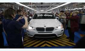 На «Автоторе» произвели пятидесятитысячный BMW