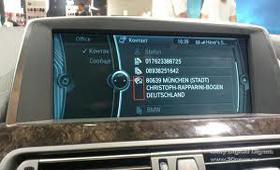 На IFA 2011 BMW показал свежую версию BMW Connected Drive