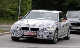 Новую BMW 3-series обнаружили в общем потоке