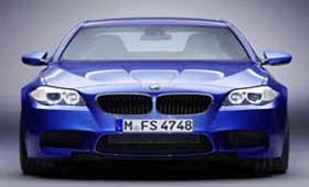 Появились фициальные фото BMW M5 F10