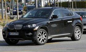 Новый BMW X6 на завершающей стадии тестирования