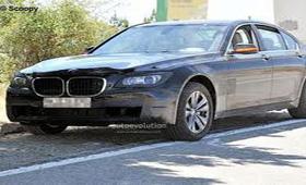 Рестайлинговый BMW 7-Series продемонстрируют весной следующего года