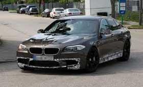 Серийная BMW M5 поймана до официальной премьеры