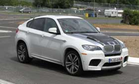 Спецверсию BMW X6 M заметили на тестах