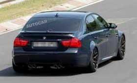 Шпионы сфотографировали прощальный вариант заряженного BMW M3