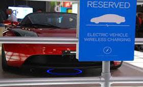 Беспроводная зарядка электромобиля