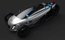 «Трехколесник» BMW i1
