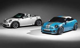 BMW представил видео в главной роли с MINI Roadster