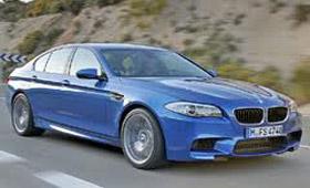 BMW M5 оказался мощнее, чем ожидали