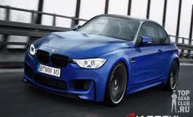 Рендер BMW M3 Coupe от LACOSKI