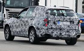 BMW X5 третьего поколения снова  показался на тестах