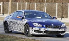 BMW испытывает «заряженную» M6 Gran Coupe