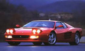 Строгий Ferrari 512