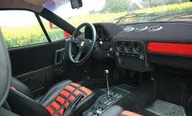 Интерьер Ferrari 288