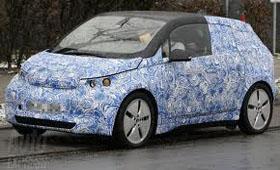 Электрокар BMW i3 пойман во время тестов