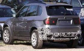 Обновленный BMW X5 М засняли в Калифорнии