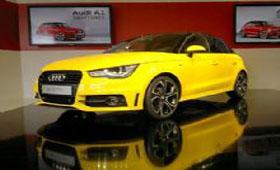 Audi презентовала в Европе новую Audi A1 Sportback 2012