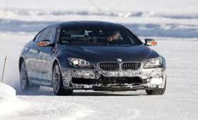 BMW проввдит испытания четырехдверной M6 по снегу