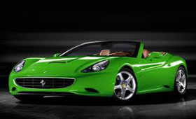 «Зелёная» Ferrari