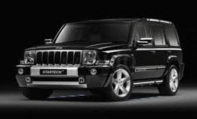 Новый тюнинг-пакет Startech Jeep Commander