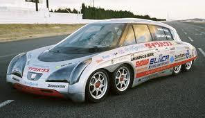 """""""Eliica"""" – самый быстрый электромобиль в мире!"""