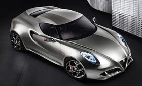 Alfa Romeo продемонстрирует новую версию купе 4C во Франкфурте