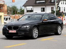 BMW готовится к рестайлингу седана 7 серии