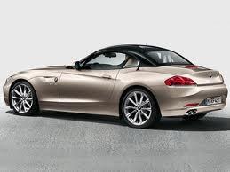 BMW предлагает новые цвета крыши родстера Z4