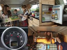 "Как оно внутри ""Volkswagen T2 Camper"""
