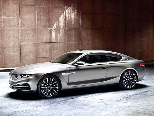 BMW совместно с ателье Pininfarina представили концептуальное купе
