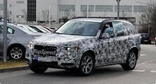 Шпионы поймали в фотообъектив новый BMW X5