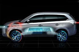 Компания «Mitsubishi» готова к показу полноприводного електрокроссовера