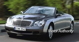DaimlerChrysler планирует создать кроссовер и кабриолет марки Maybach