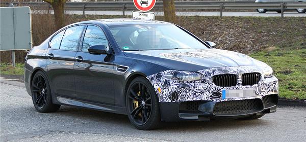 BMW планирует обновить М5 в следующем году