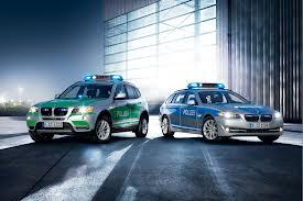 Новые BMW станут полицейскими