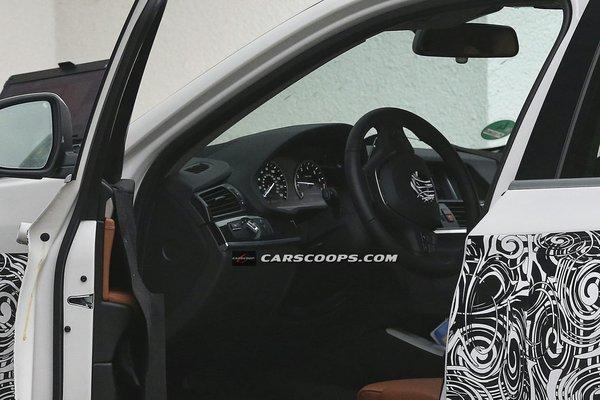 Фотографии интерьера BMW X4 попали в СМИ