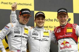Бруно Шпенглером была одержана победа на BMW