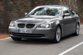 BMW 5-ой серии подвергся модернизации