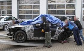 BMW M6 Coupe снова попал в аварию на Нюрбургрингской трассе