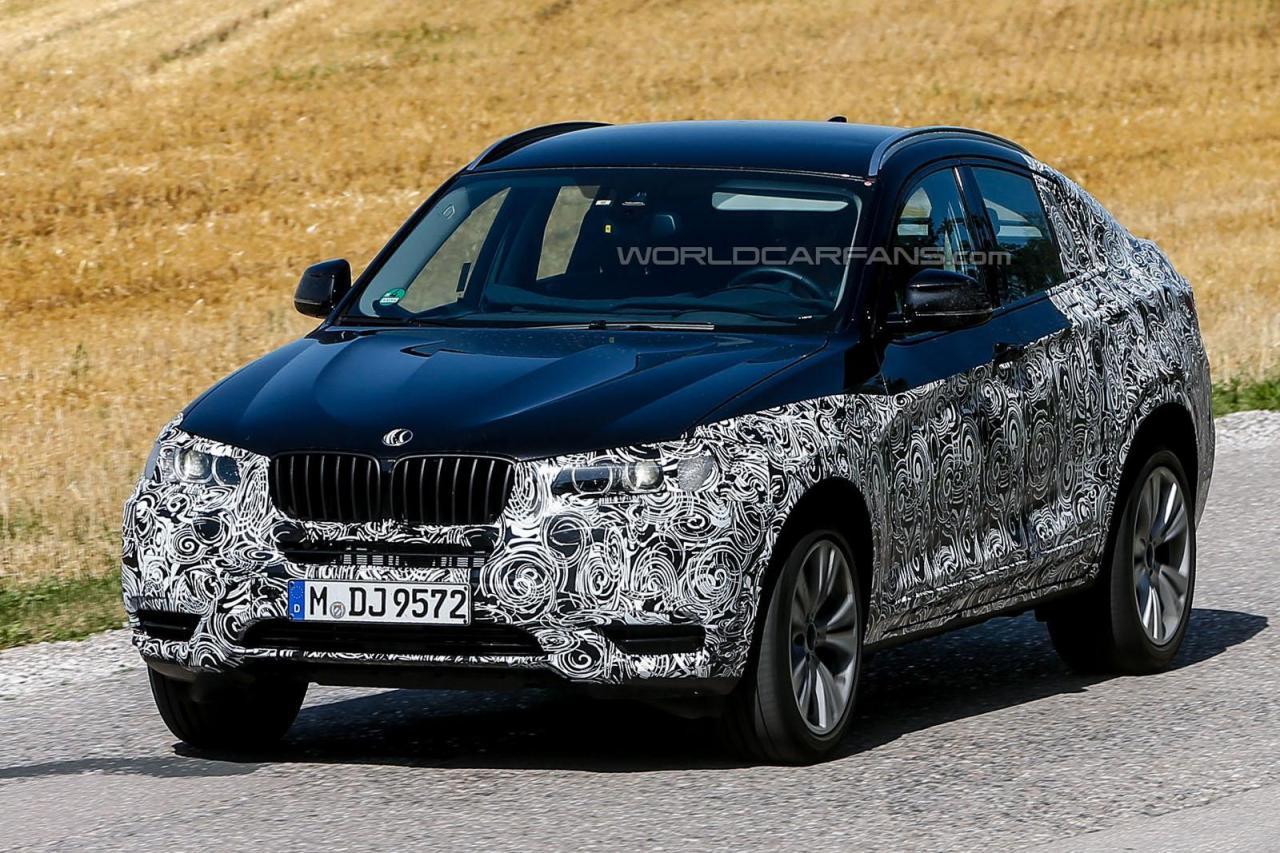 Фотографии BMW X4 на новых испытаниях