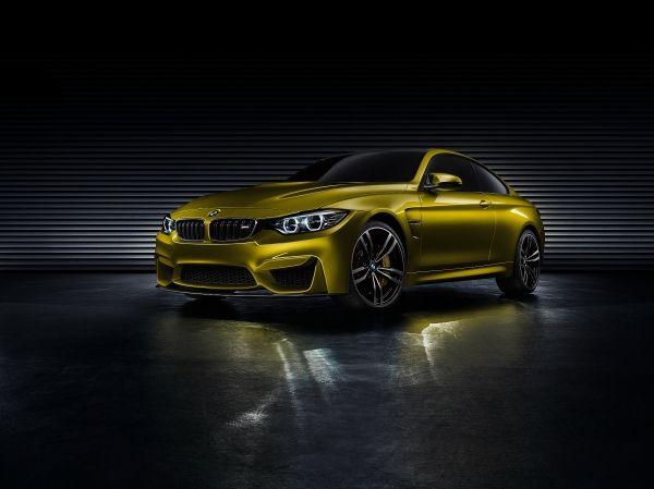 Официальное представление концепт-кара купе BMW M4