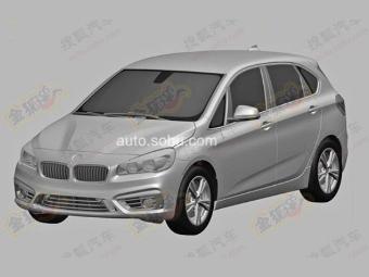 Были опубликованы снимки патента хэтчбека первой серии от BMW