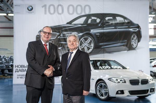 В Калининграде был выпущен 100-тысячный автомобиль BMW