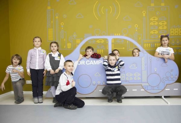 Junior Campus by BMW Group in Russia